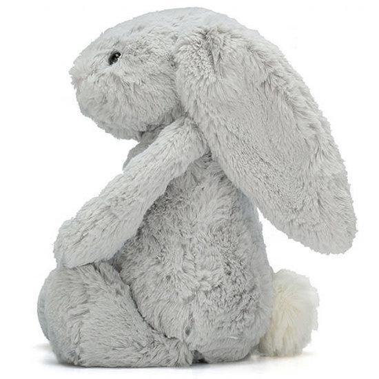 Jellycat Kuscheltier Hase Jellycat Bashful Bunny - Medium grau