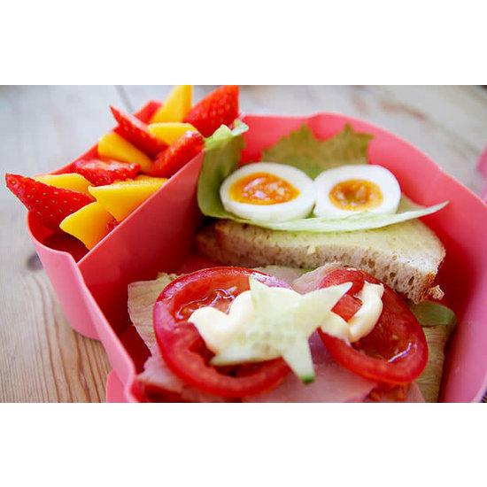 Blafre Lunchbox uil mint - Blafre