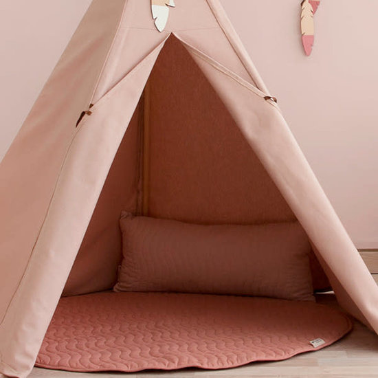 Nobodinoz tipi en accessoires Nobodinoz Pure Line - Nevada teepee - Bloom pink