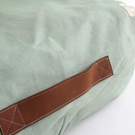 Nobodinoz tipi en accessoires Nobodinoz Pure Line - zitzak Oasis - Provence mint groen
