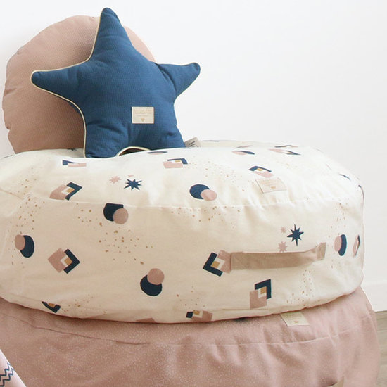 Nobodinoz tipi en accessoires Nobodinoz star cushion Aristote - Elements - Magic Green