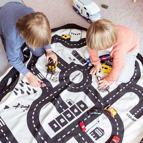 Play and Go Play and Go speelmat en opbergzak roadmap - autobaan