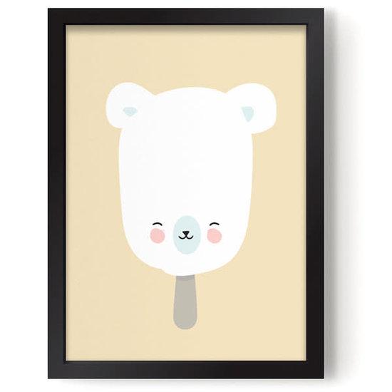 Eef Lillemor Poster - Polar Pop gelb - Eef Lillemor