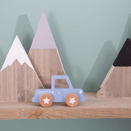 Little Dutch Speelgoed auto - Pickup - Mixed Stars Mint - Little Dutch