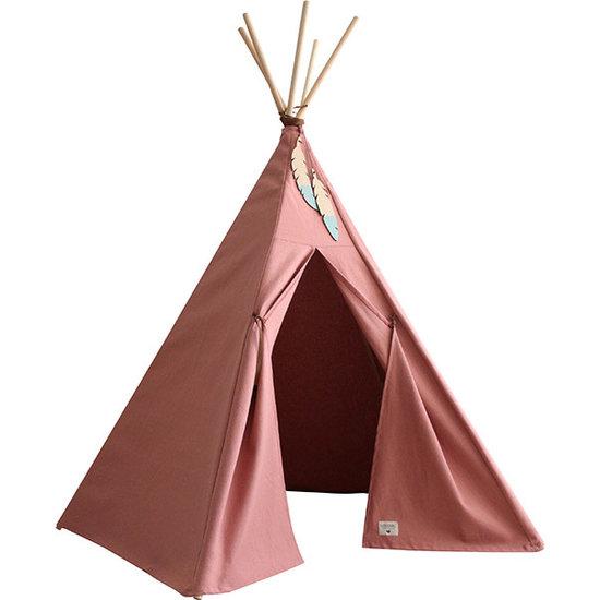 Nobodinoz tipi en accessoires Teepee Nevada - Dolce Vita pink - Nobodinoz Pure Line
