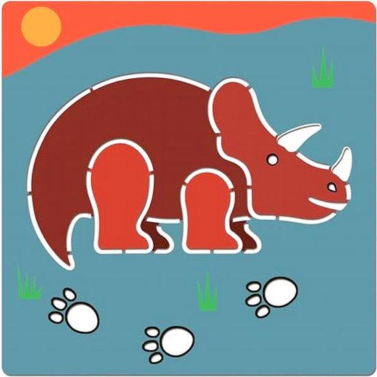 Djeco Djeco - tekensjablonen - dinosaurussen