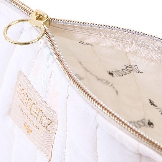 Nobodinoz tipi en accessoires Nobodinoz - vanity case - Holiday Small - Aqua Eclipse - White