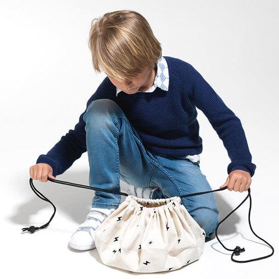 Play and Go Play and Go - Aufräumsack - Spielzeugsack - Mini Thunderbolt - Blitz