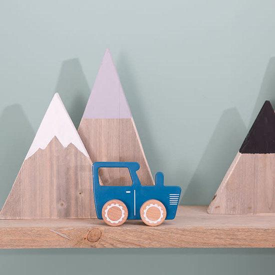 Little Dutch Spielzeugauto - Traktor - Mixed Stars Mint - Little Dutch