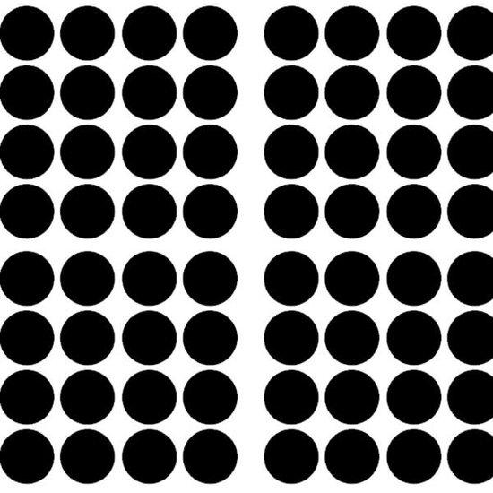 Pom Le Bonhomme Wall stickers confetti black - Pöm Le Bonhomme - set of 80 stickers