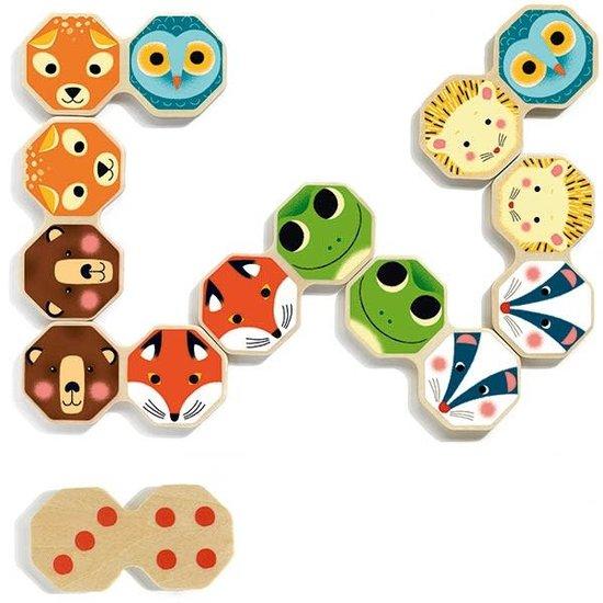 Djeco Djeco - Octo domino - bosdieren +2jr
