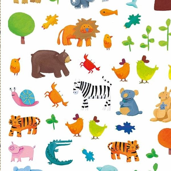 Djeco Djeco stickers Dieren 160 stuks