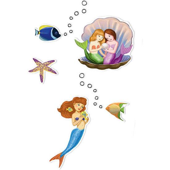 Djeco Djeco stickers Zeemeerminnen 160 stuks