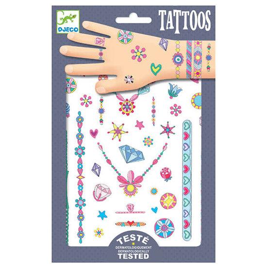 Djeco Djeco - tattoos Jenni's sieraden - neon +3jr