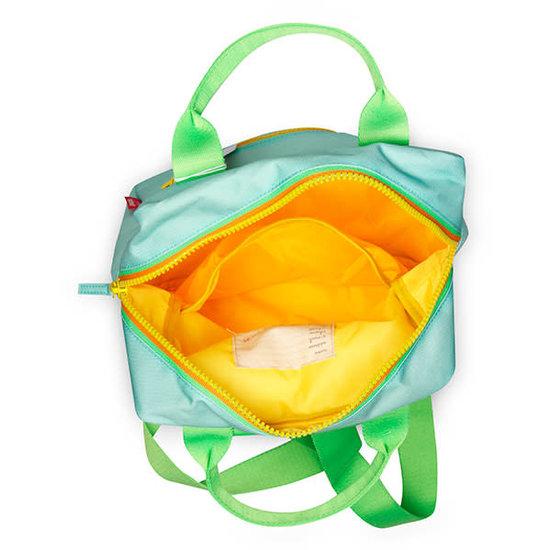 Engelpunt Backpack large - zipper - mint - Engel.