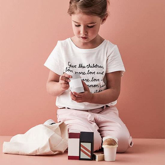 Kid's Concept Houten boodschappen met tas - Kids Concept +3 jr