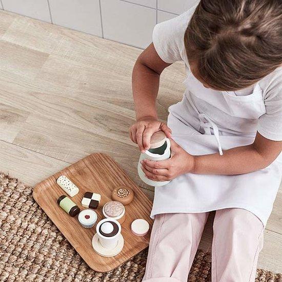 Kid's Concept Kids Concept - speelgoed taartjes Bistro - 9 stuks +3jr
