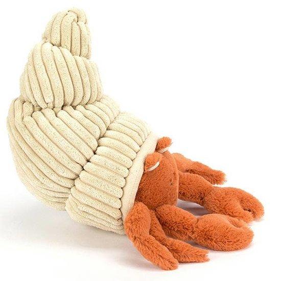 Jellycat Knuffel krab - Herman Hermit - Jellycat
