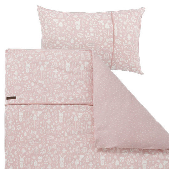 Little Dutch Little Dutch cot bed duvet cover - Adventure Pink