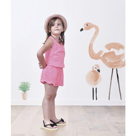 Lilipinso Muurstickers Flamingo XL - Lilipinso