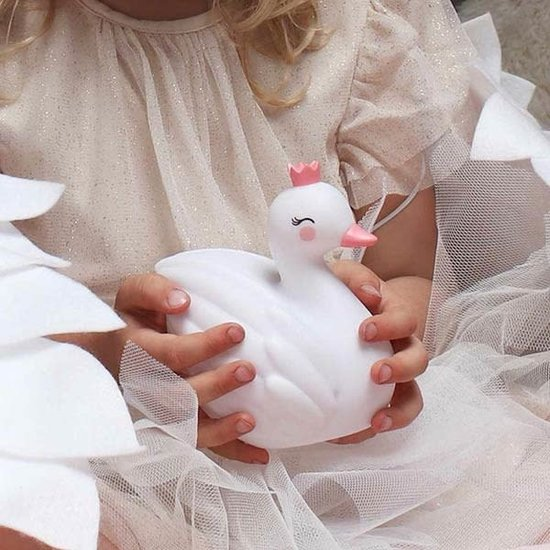A Little Lovely Company Night light - swan - A Little Lovely Company