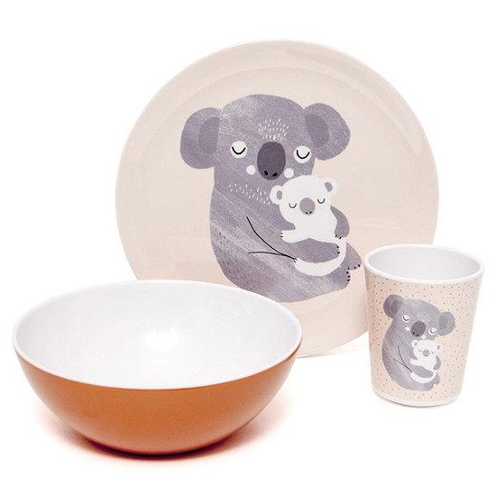 Petit Monkey Petit Monkey - melamine beker - koala