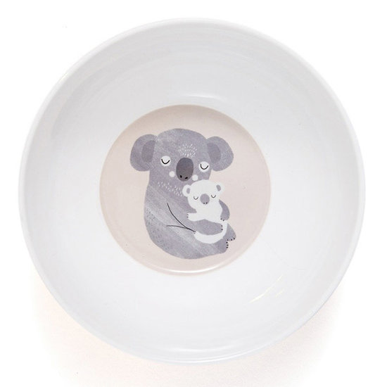 Petit Monkey Petit Monkey - melamine kom - koala