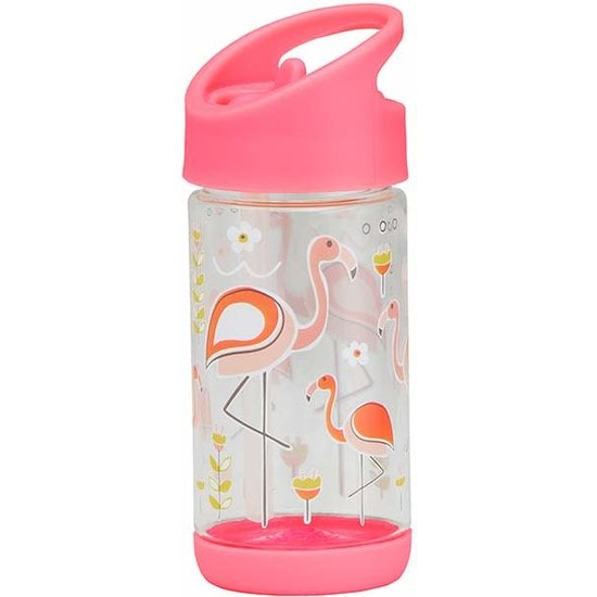 Sugar Booger Sugar Booger - drinkfles Flip and Sip - Flamingo