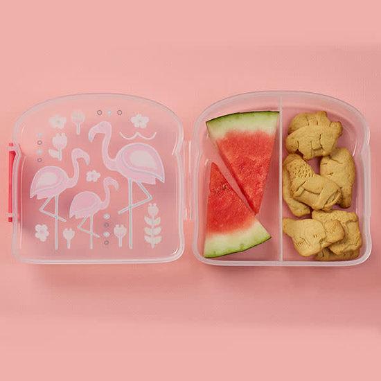 Sugar Booger Sugar Booger - lunch box - sandwich box - brooddoos - Flamingo