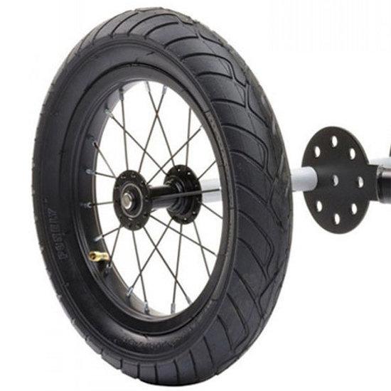 Trybike Loopfietsen Trybike Steel Trikekit wheel extension set black