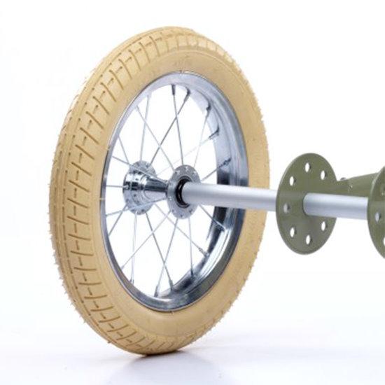 Trybike Loopfietsen Trybike Steel Trikekit wiel extensie set Vintage