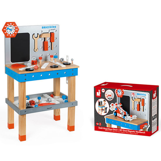 Janod speelgoed DIY magnetic workbench Large - Brico Kids - Janod +3 yrs