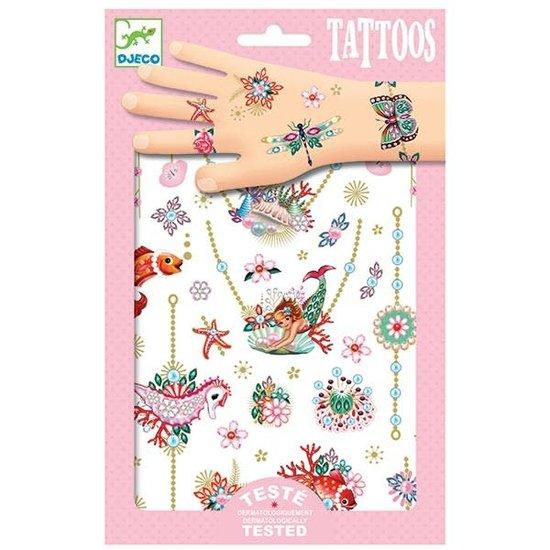 Djeco Djeco - tattoos Fiona's sieraden - metallic +3jr
