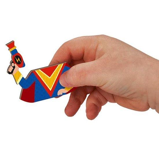 Janod speelgoed Janod - Magnetbuch Jungen Kostüm - 44 Stück 3-8 Jahren