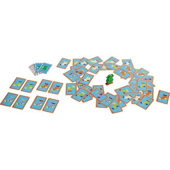Haba Card game - Lucky Sock Dip - Haba +4 years