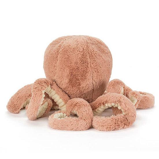 Jellycat Knuffel octopus Baby Odell - Jellycat - 14 cm