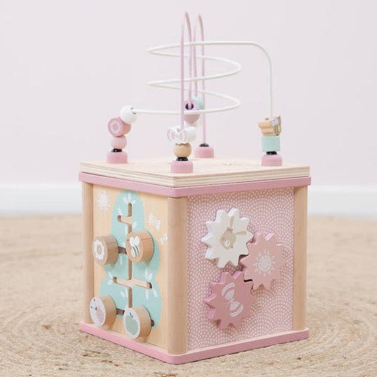 Little Dutch Activity cube - Adventure Pink - Little Dutch