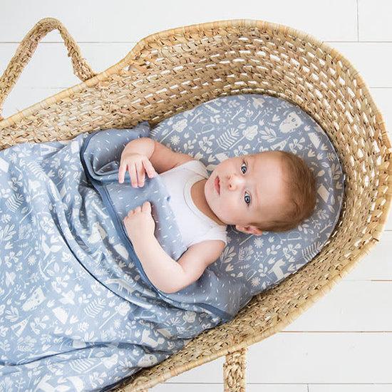 Little Dutch Little Dutch babybettlaken - wiegenlaken little Adventure Blue