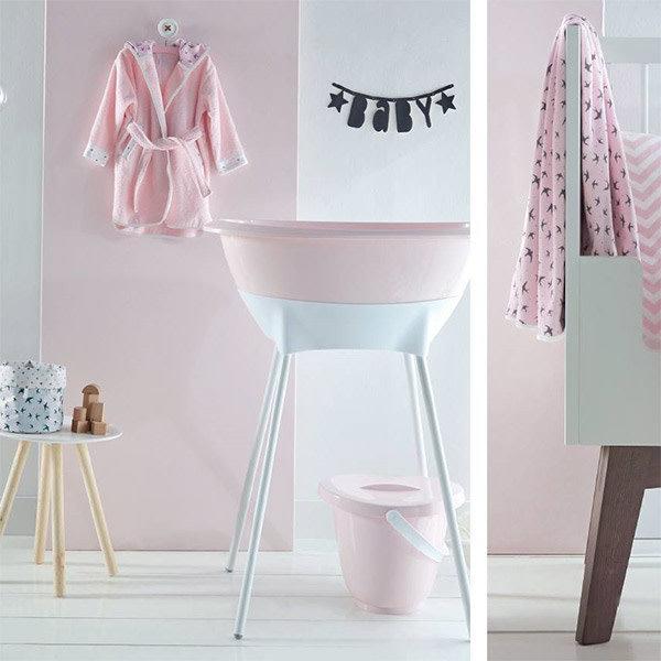 Baignoire Bebe Cloud Pink Luma Little Thingz