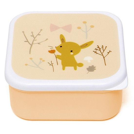 Petit Monkey Lunchbox - brooddoos - Forest Friends - Petit Monkey