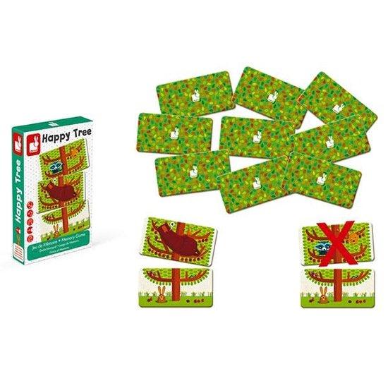 Janod speelgoed Memory game - Happy Tree - Janod +4 yrs