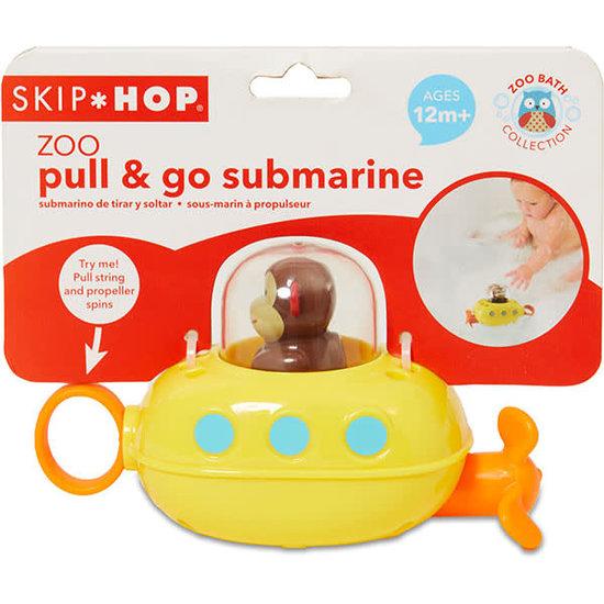 Skip Hop Skip Hop - pull and go submarine aap - badspeelgoed +12M