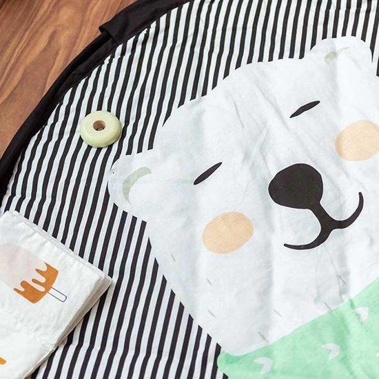 Play and Go Play mat - storage bag - polar bear - Soft - Play and Go