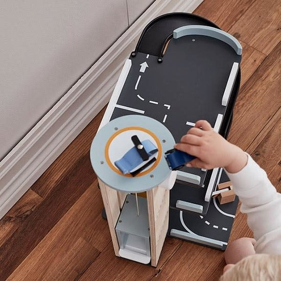 Kid's Concept Toy garage - Aiden - Kids Concept +3 yrs