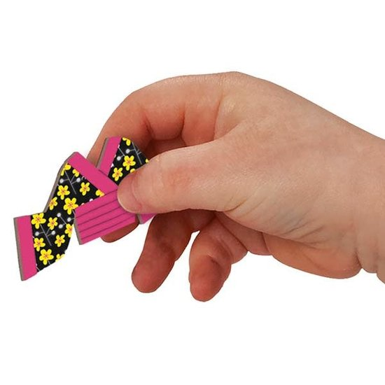 Janod speelgoed Janod - magneetboek meisjes outfits - 54st 3-8jr