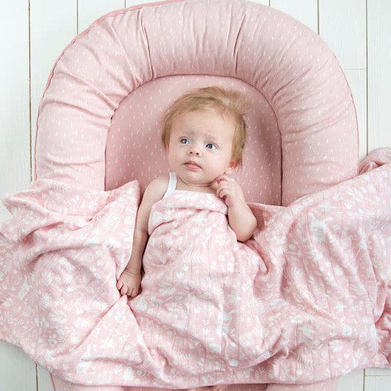 Little Dutch Little Dutch babydekentje - wiegdeken pure and soft - Adventure Pink