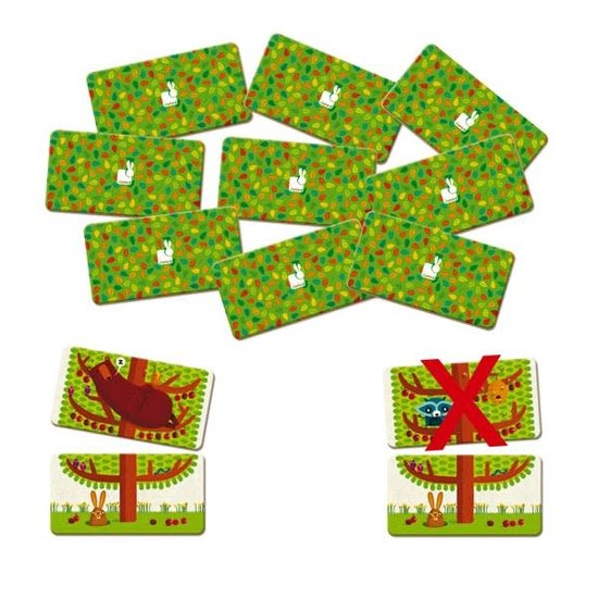 Janod speelgoed Memory - geheugenspel - Happy Tree - Janod +4jr