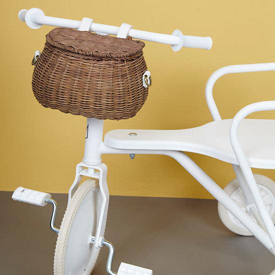 Olli Ella Olli Ella - Mini Chari basket natural - wicker basket - bicycle basket