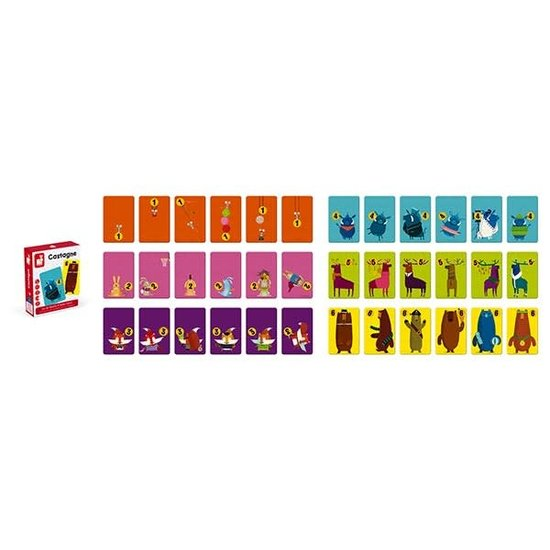 Janod speelgoed Strijd spel - Castagne - Janod +3jr