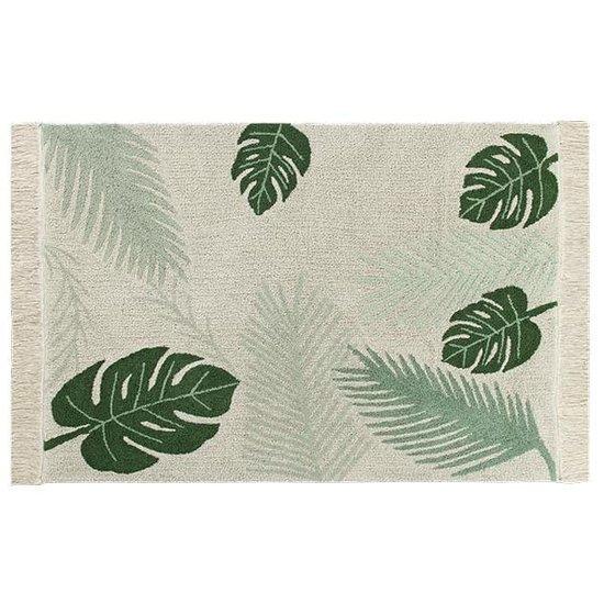 Lorena Canals Rug - Plants - Tropical Green - Lorena Canals